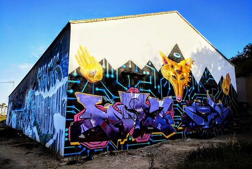 Arte Urbano en la huerta de Burjassot - Valencia