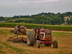 IH's Resting (George Neat) Tags: international harvester farm tractor fields work sewickley township twp vehicle westmoreland county pa pennsylvania laurelhighlands transportation georgeneat patriotportraits neatroadtrips