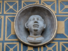 The Negro Head, Old Market Place, Old Town, Warsaw, Poland (msadurski) Tags: architecture negro detail lumix gm5 warsaw oldtown poland 35100