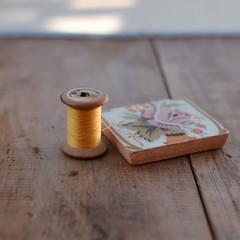 Colores de Otoño... (Irene Carbonell) Tags: hilos antique vintage baldosas vintagelove 35mm nikon otoño