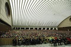 Udienza Papa Francesco (Dipartimento Protezione Civile) Tags: udienza vaticano papa papafrancesco dpc sistema protezionecivile servizionazionale roma aulapaolovi santopadre incontro volontariato volontari