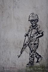 Street art near Victoria (louisemarston) Tags: london uk streetart banksy