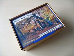 Beech Trees - box lid (pefkosmad) Tags: jigsaw puzzle hobby leisure pastime robertlongstaffworkshops wood wooden doublesided lasercutwoodenpuzzles beechtrees fullyinterlocking lasercut woodenbox