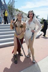 SDCC 2018 - 1793 (Photography by J Krolak) Tags: costume cosplay masquerade comicconvention sdcc2018 starwars princessleia slaveleia