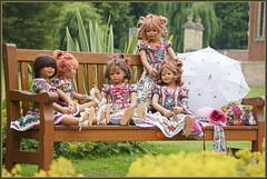 Kindergartenkinder ... einen schönen Tag ... (Kindergartenkinder 2018) Tags: havixbeck burg hülshoff kindergartenkinder annemoni kindra milina sanrike tivi