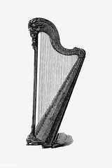 Vintage harp illustration (Free Public Domain Illustrations by rawpixel) Tags: british acoustic antique art black blackandwhite cc0 celtic classical concert creativecommons0 culture decoration design designresource drawing engraving entertainment equipment etching europe european handdrawn icon illustration ink instrument irish lira melody music musical name nostalgic object oldfashioned ornament pen play psd publicdomain retro sketch sound string strings style symbol symphonic symphony tattoo traditional vintage