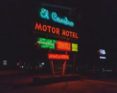 (el zopilote) Tags: ranchosdealbuquerque newmexico cityscape street architecture neon signs night powerlines us66 canon eos 5dmarkii canonef24105mmf4lisusm fullframe 500