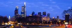 Philadelphia Blue Hour (Nick Burwell) Tags: philadelphia philly canon eos 6d sigma 35mm art blue hour cityscape longexposure