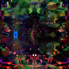 critters... (Mark Noack) Tags: light color photoshop layer layering surreal expressionism abstract psychedelic futurist abstraction