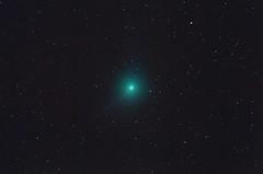 Comet C/2018 Y1 (Iwamoto) on Feb 13, 2019.  Star-Freeze version. (CajunAstro) Tags: comet c2018y1 iwamoto televue tv85 canon stars sky nightsky telescope