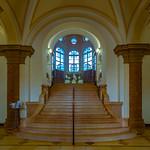Nürnberg, Gewerbemuseum, Treppenaufgang thumbnail