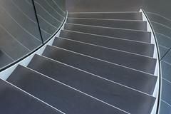 Steps and lines (on Explore) (Jan van der Wolf) Tags: map192455v stairs trap treden stairway staircase lines lijnen lijnenspel interplayoflines playoflines reflection spiegeling steps monochrome monochroom museum defundatie museumdefundatie