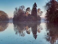 Lac du Bois de Boulogne (Celia Vassaux) Tags: french france lake park lac parc paris boisdeboulogne paysage 1240mm markii em5 omd olympus heure dorée matin matinale bois boulogne