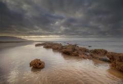 """"""" CRUNCH UNDERFOOT """" (Wiffsmiff23) Tags: heritagecoastlinesouthwales glamorganheritagecoastline southwales traethmawr traeth reflection beach"""
