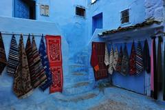 Chefchaouen, Morocco, January 2019 D700 354 (tango-) Tags: chefchaouen bluecity villaggioblu bluevillage morocco maroc 摩洛哥 marruecos марокко المغرب