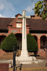 Cross of Sacrifice Leatherhead War Memorial Surrey UK (davidseall) Tags: cross sacrifice leatherhead war memorial monument surrey uk ww1 ww2 world 1 one 2 two 1st 2nd first second great