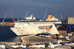 costa riviera (dmytrok) Tags: bari italia italien italy msc msclirica lirica ship cruiseship vessel adria adriatic