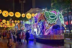 Chingay @ Chinatown (chooyutshing) Tags: decoratedfloat lightedup display peoplesassociationyouthmovement paym chingaychinatown chinesenewyear2019 festival newbridgeroad chinatown singapore