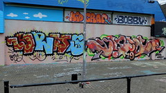 Schuttersveld - Grijs - Hotus (oerendhard1) Tags: streetart urban art graffiti rotterdam oerendhard crooswijk schuttersveld hotus birol grijs