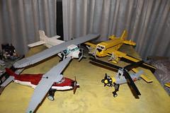 Go Big or Go Home (rjg173) Tags: lego airplane