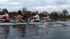 IMG_1010 (NUBCBlueStar) Tags: rowing remo rudern river aviron february march star university sunrise boat blue nubc sculling newcastle london canottaggio tyne hudson thames sweep eight pair