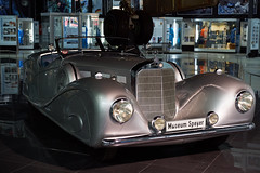 Big Old Fancy Merc (craigcallagher) Tags: speyer museum germany old car mercedes