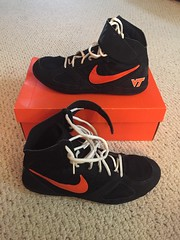 VT Nike Takedowns (Zzavatsky184) Tags: nike kolats vapormax hypersweeps wrestling virginia tech speeds blue inflict pegasus 33 flyknit 2 aggressors yellow freaks black takedowns 5