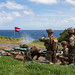 U.S. Marines fire mortar rounds during a squad supported attack at the  Kaneohe Bay Range Training Facility, Marine Corps Base Hawaii