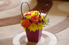 A bag full of flowers (Baubec Izzet) Tags: baubecizzet pentax bokeh flower bouquet