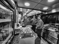 Street 615 (`ARroWCoLT) Tags: istanbul turkey tr fastfoof job bokeh pet animal monochrome bnw bnwstreet streetart street streetphotography outdoor siyahbeyaz art bw blackwhite blackandwhite arrowcolt catportrait potato istanbulsokakları wood lgv30 v30 mobiography cellphoneart patso patates mutfak kitchen