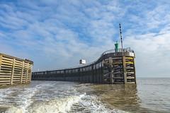 Leaving port (Jo Evans1 - taking a short break - back soon!) Tags: cardiff bay barrage leaving port