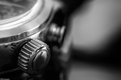 timepiece (fhenkemeyer) Tags: timepieces hmm macromondays macro abstract bw timex old signsofwear