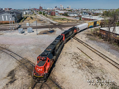 CN 5421 | EMD SD60 | CN Memphis Subdivision (M.J. Scanlon) Tags: business cn cn5421 cn5470 cnmemphissubdivision cnrjy30 canadiannational capture cargo commerce dji digital drone emd engine freight horsepower landscape locomotive logistics mjscanlon mjscanlonphotography mavik2 mavik2zoom memphis merchandise mojo move outdoor outdoors photograph photographer picture quadcopter rjy30 rail railfan railfanning railroad railroader railway sd60 scanlon super tennessee track train trains transport transportation wow ©mjscanlon ©mjscanlonphotography