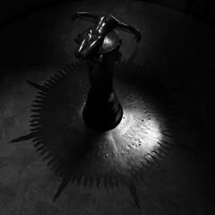 "Rayner Hoff's ""Sacrifice"" (Mikey Down Under) Tags: sydney hyde centre war memorial museum station anzac australia city inside statue sculpture monument park dark blackandwhite bw monochrome sacrifice raynerhoff"