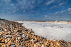 samyang 14mm-18 (istee@live.co.uk) Tags: cromer pier beach seaside wideangle superwideangle sea waves samyang 14mm sonya7rii clouds sky blue