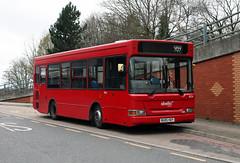 Route 969, Abellio London, 8024, BU05HDY (Jack Marian) Tags: route969 abelliolondon 8024 bu05hdy dennis dart dennisdart plaxton pointer plaxtonpointer whittongladstoneavenue roehamptonvaleasda buses bus london