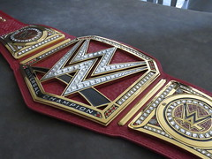 (imranbecks) Tags: wwe universal championship commemorative replica title belt raw red strap 2016