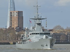LE James Joyce P62 (4) @ Greenwich 18-03-19 (AJBC_1) Tags: lejamesjoyce p62 london patrolvessel offshorepatrolvessel military warship dlrblog ©ajc ship boat vessel opv patrolboat england unitedkingdom uk navy navalvessel eastlondon nikond3200 samuelbeckettclass irishnavalservice irishdefenceforce ajbc1 riverthames greenwich royalboroughofgreenwich greatbritain gb militaryvessel