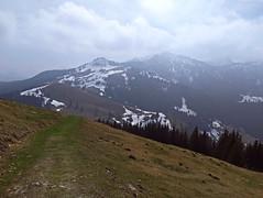 Going downhill (aniko e) Tags: farrenpoint badfeilnbach mountains hiking spring snow trail path outdoors walking nature bavaria bayern germany