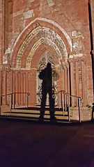 Shadow on the Cathedral (JanuaryJoe) Tags: orkney scotland scottish kirkwallcathedral cathedrals shadows