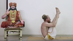 @nithyanandayoga The Prathama Vinyasa Krama (PVK) is the first ever sequence of 108 traditional asanas performed in one hour. As the first of many gifts in the field of yoga delivered by the Avatar H.D.H. Paramahamsa Nithyananda, it is the only yoga in th (sri.sadyojata) Tags: enlightenment transformation consciousness cosmictruth truth yoga meditation spirit blessings bliss awakening breakthrough