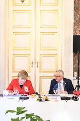 EPP Summit, Brussels, March 2019 (More pictures and videos: connect@epp.eu) Tags: eppsummit brussels march2019 epp european people's party summit march 2019 angela merkel federal chancellor germany jeanclaude juncker president commission peoples