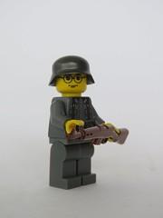 Wermacht ({Achillea}) Tags: wermacht ww2 germany g43 brickarms brick citizen lego minifig stahlhelm