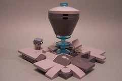 Abduction (Strombots) Tags: lego abduction micro scale