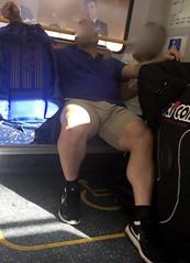 Amazing legs (CubOz) Tags: stalker sydney train legs bulge