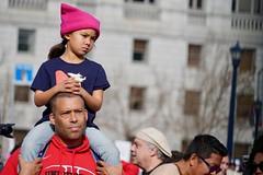 Woman's March 2019 (Lynn Friedman) Tags: pinkpussyhat girl womansmarch politics gender equality resistance sanfrancisco california usa 94102