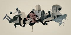 Transient Transfection (mightyjoecastro) Tags: monotone surreal dada abstract modernart contemporaryart artists artist arte art collage brevoort joecastro mighty