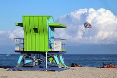 Miami beach beauty, life and action (fotowayahead) Tags: miamibeach paragliding baywatchmiami miami