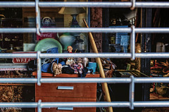 Discarded Dreams (John Piekos) Tags: oldsanjuan d750 nikon vacation pawnshop closed surfboard hamilton junkyard puertorico sanjuan cocacola junk dolls