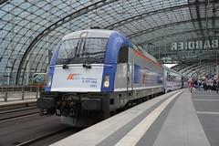 PKP IC 5 370 002 (LukaszL99) Tags: berlin hbf hauptbahnhof eu44 siemens es64u4 5 370 eu44002 ic pkp intercity inter city ec euro eic niemcy germany deutschland zug pociąg bahn train lokomotywa lok locomotive lokomotive taurus